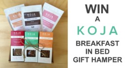 Win KOJA Limited Edition Breakfast in Bed Gift Hamper