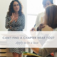 become a chapter host promo
